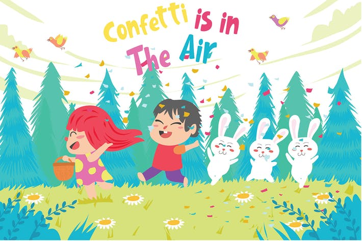 Thumbnail for Confetti - Vector Illustration