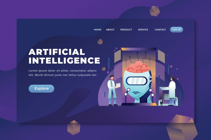 Thumbnail for Artificial Intelligence - PSD and AI Landing Page