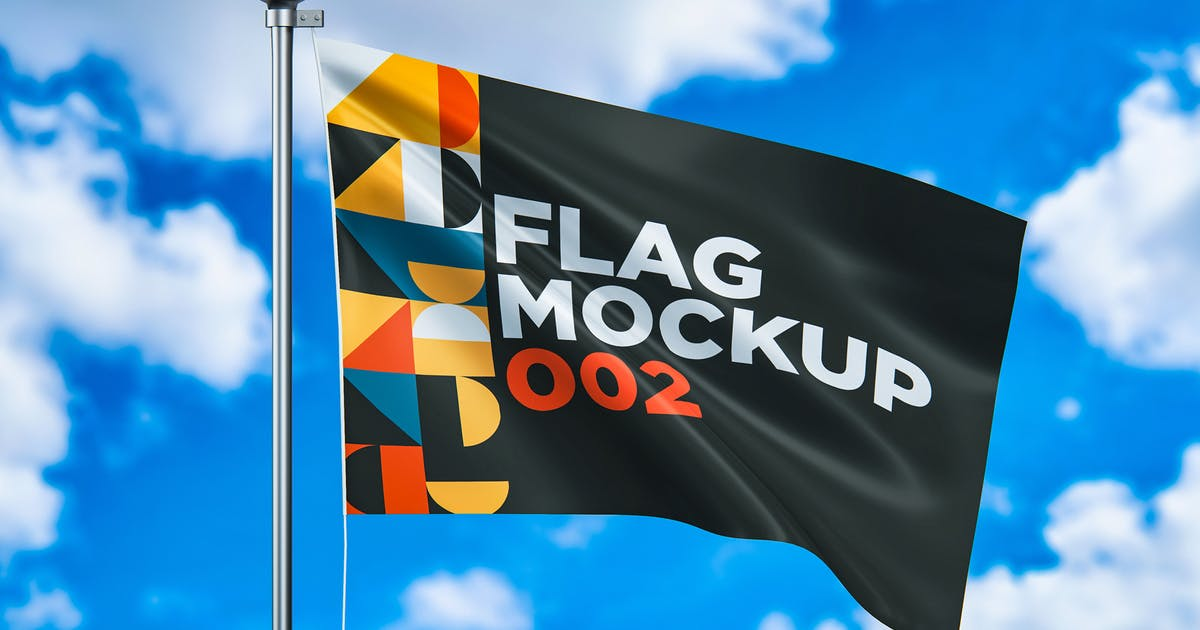 Download Flag Mockup 002 by traint