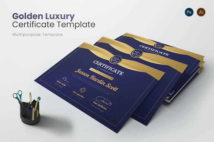 Golden Luxury Certificate