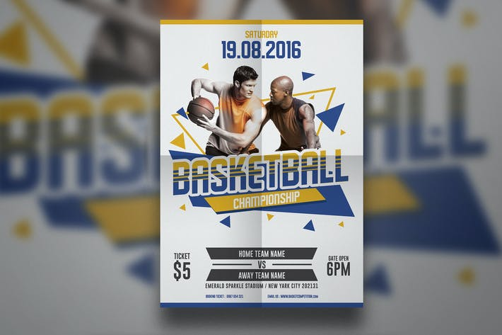 Thumbnail for Basketball Flyer