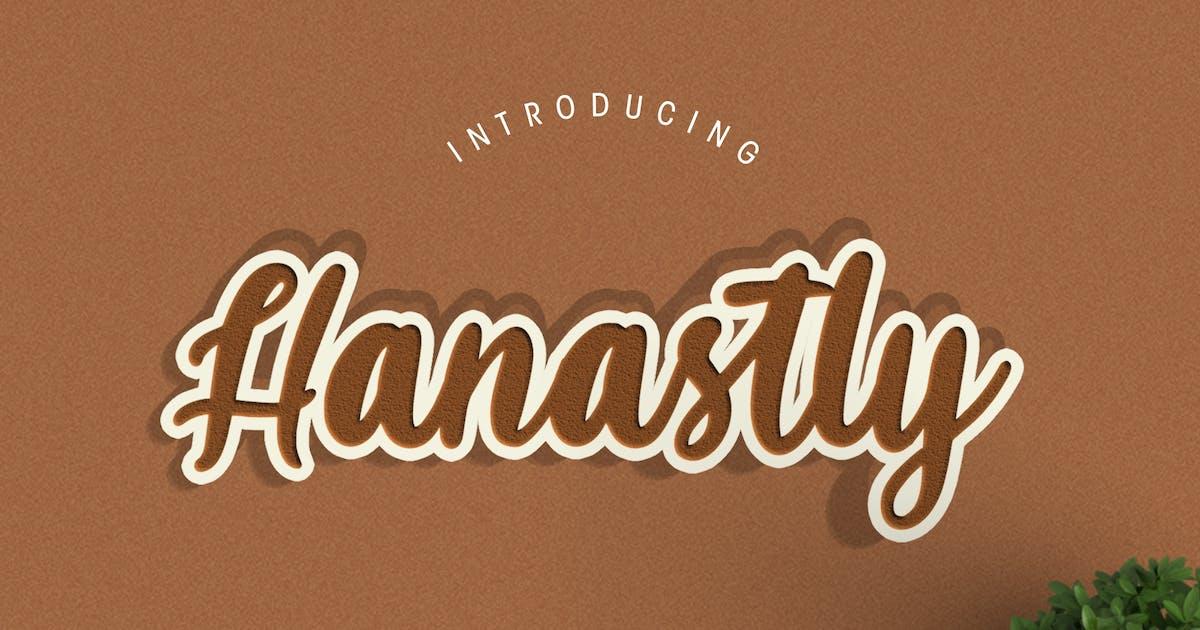 Download Hanastly Bold Script by RahardiCreative