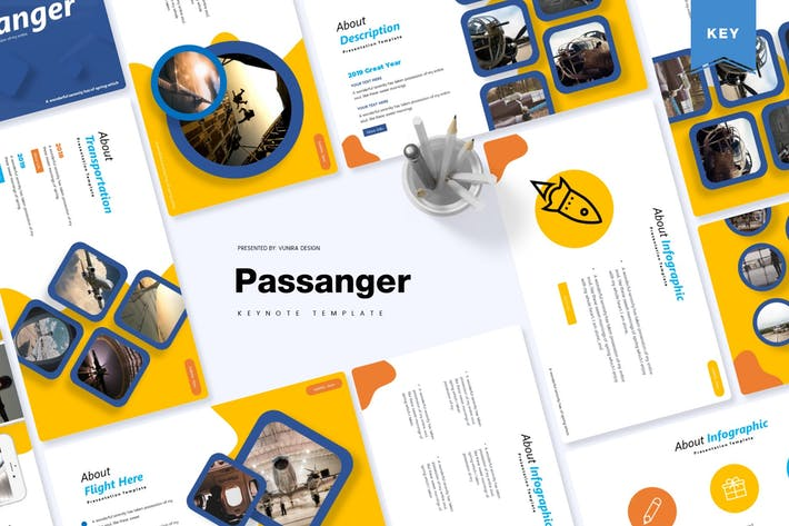 Thumbnail for Passanger | Keynote Template
