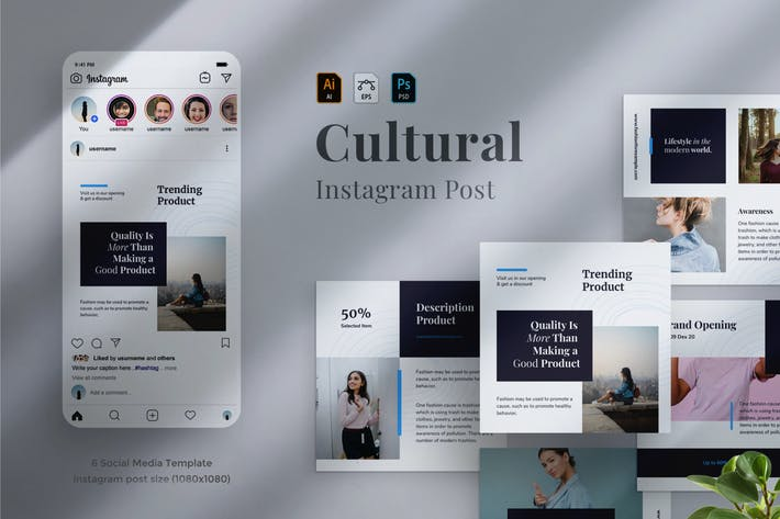 Thumbnail for Cultural - Social Media Post 12