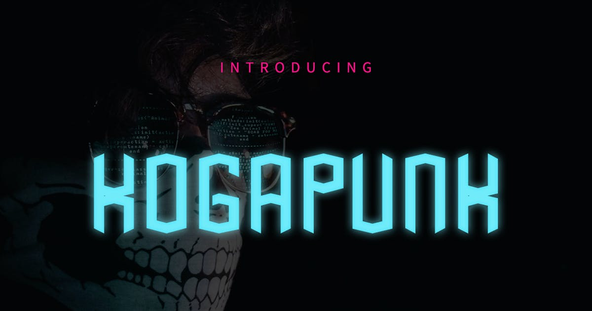 Download Kogapunk - Typeface GL by Rometheme