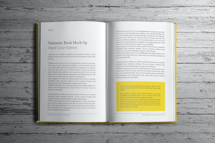 Cover Image For Hard Cover Book Mockup