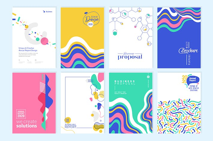 Thumbnail for brochure, illustration, vector, abstract, business