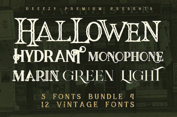 Thumbnail for 5 Fonts Bundle 4