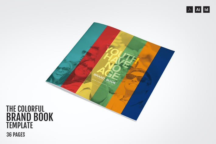 Thumbnail for The Colorful – Brand Book Template