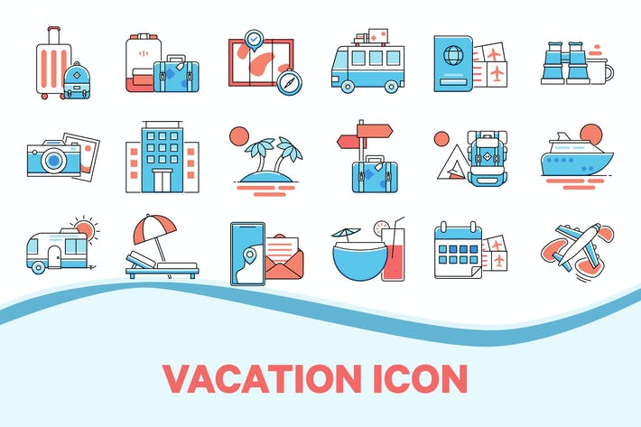Thumbnail for Vacation & Holiday Icon