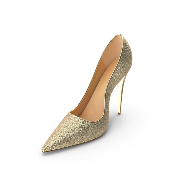 Women's Gold Shoes