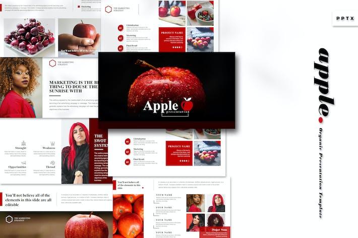 Apple - Шаблон Powerpoint