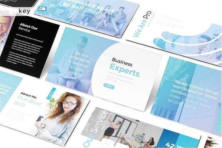 Thumbnail for BUSINESPERTEN - Keynote V487
