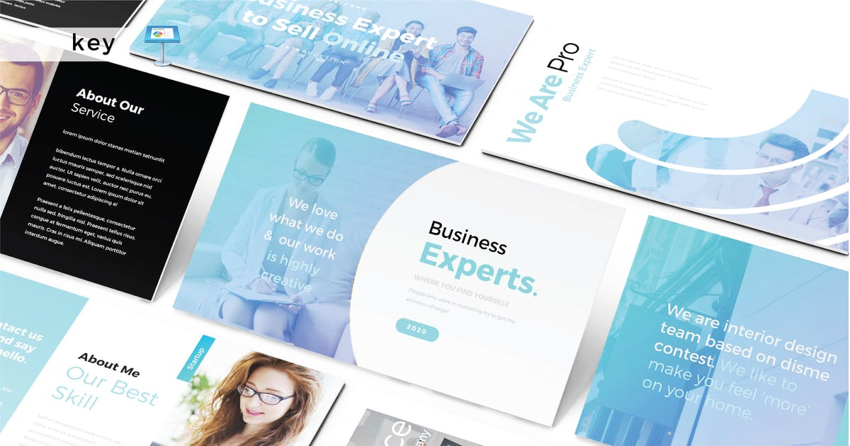 Download BUSINESS EXPERTS - Keynote V487 by Shafura