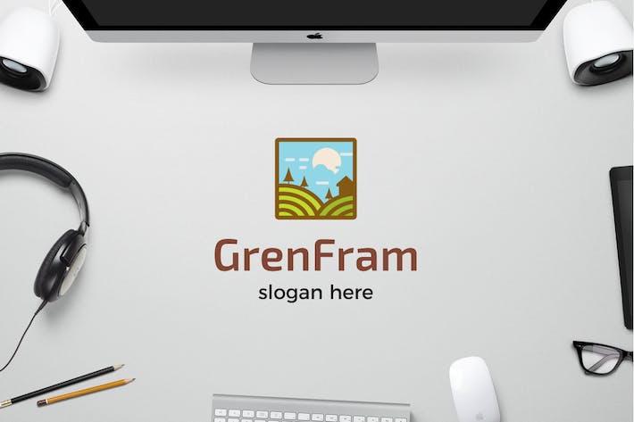 Thumbnail for Grüner Bauernhof