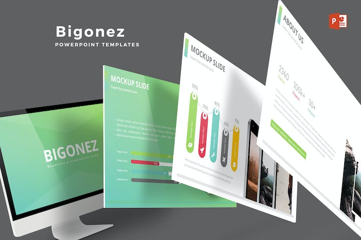 Cover Image For Bigonez - Powerpoint Template