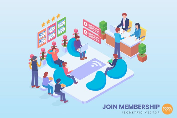 Thumbnail for Isometric Join Membership Vector Concept