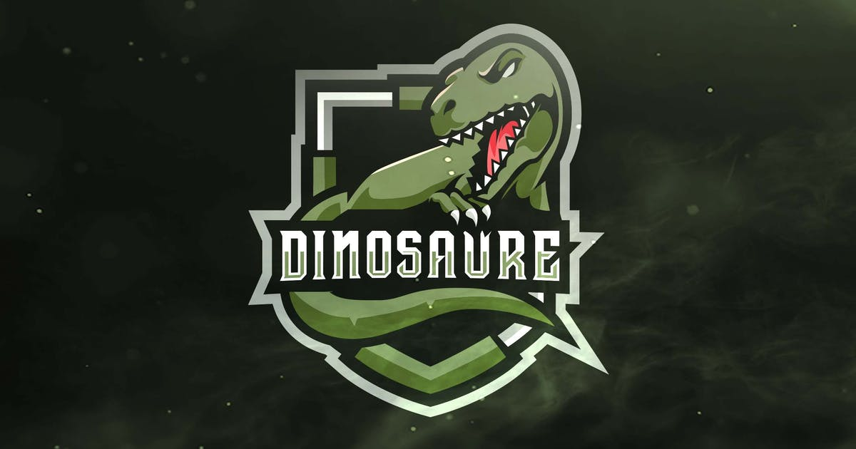 Download Dinosaure Sport and Esports Logo by ovozdigital