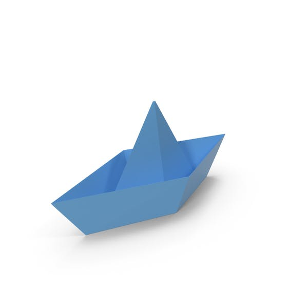 Thumbnail for Origami Boat Blue