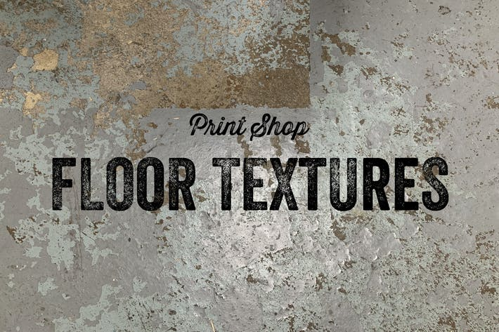 Thumbnail for Print Shop Floor Textures - 30 Items