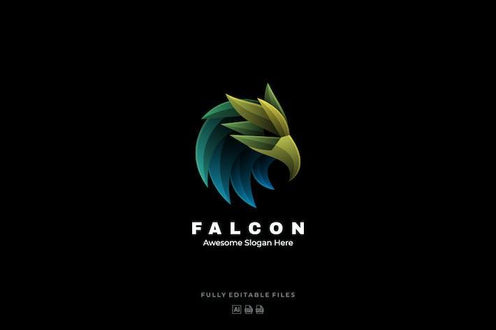 Thumbnail for Eagle Head Gradient Colorful Logo