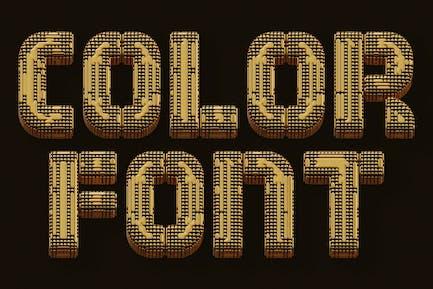 Golden Future - Color SVG Font