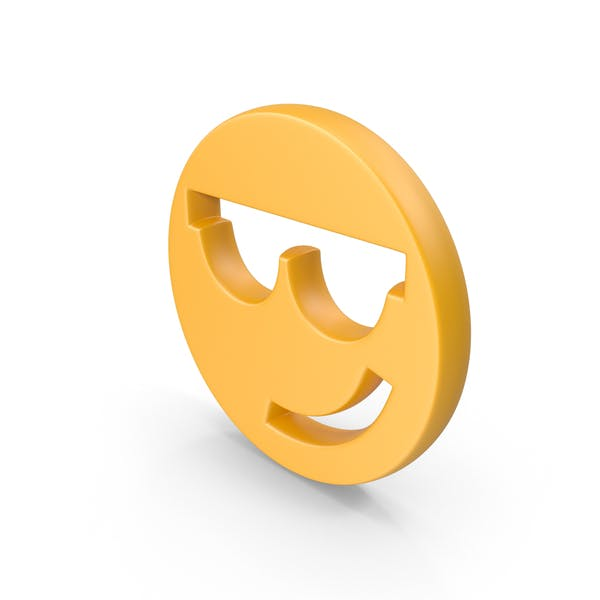 Sunglasses Face Symbol