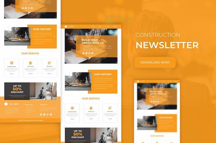 Thumbnail for Construction | Newsletter Template