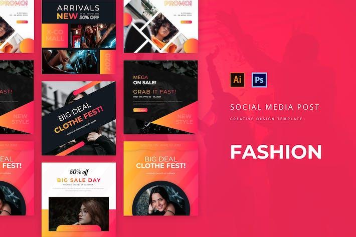 Thumbnail for Fashion Social Media Post
