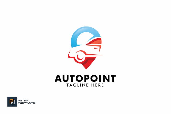 Thumbnail for Auto Point - Logo Template