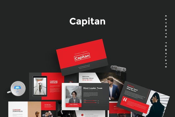 Thumbnail for Capitan - Keynote Template