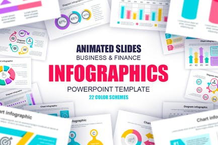 Business Infographics Powerpoint Slides Template