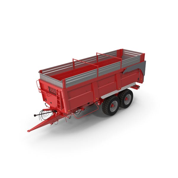 Agricultural Tipper Trailer Clean