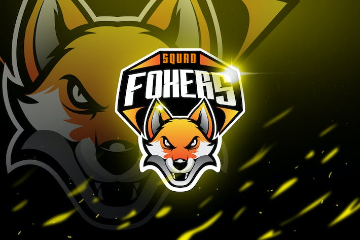 Thumbnail for Foxers - Mascot & Logo Esport