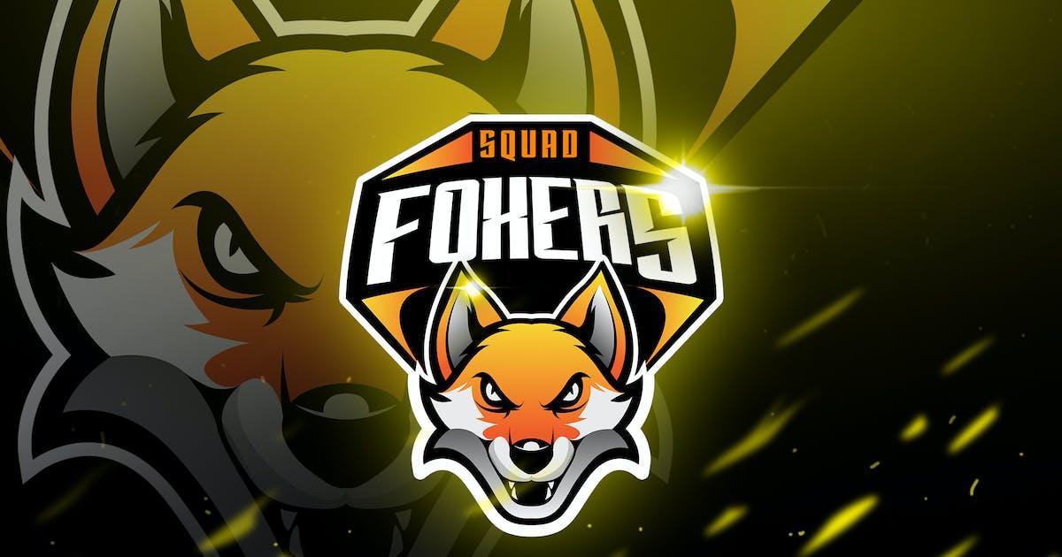 Download Foxers - Mascot & Logo Esport by aqrstudio