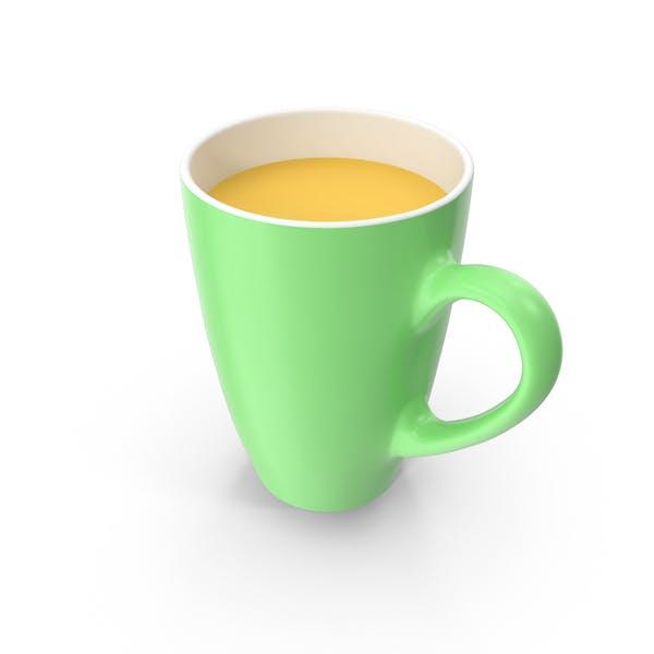Thumbnail for Green Mug With Orange Juice