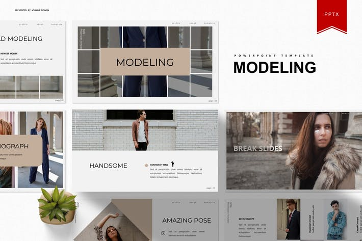 Thumbnail for Modeling | Powerpoint Template