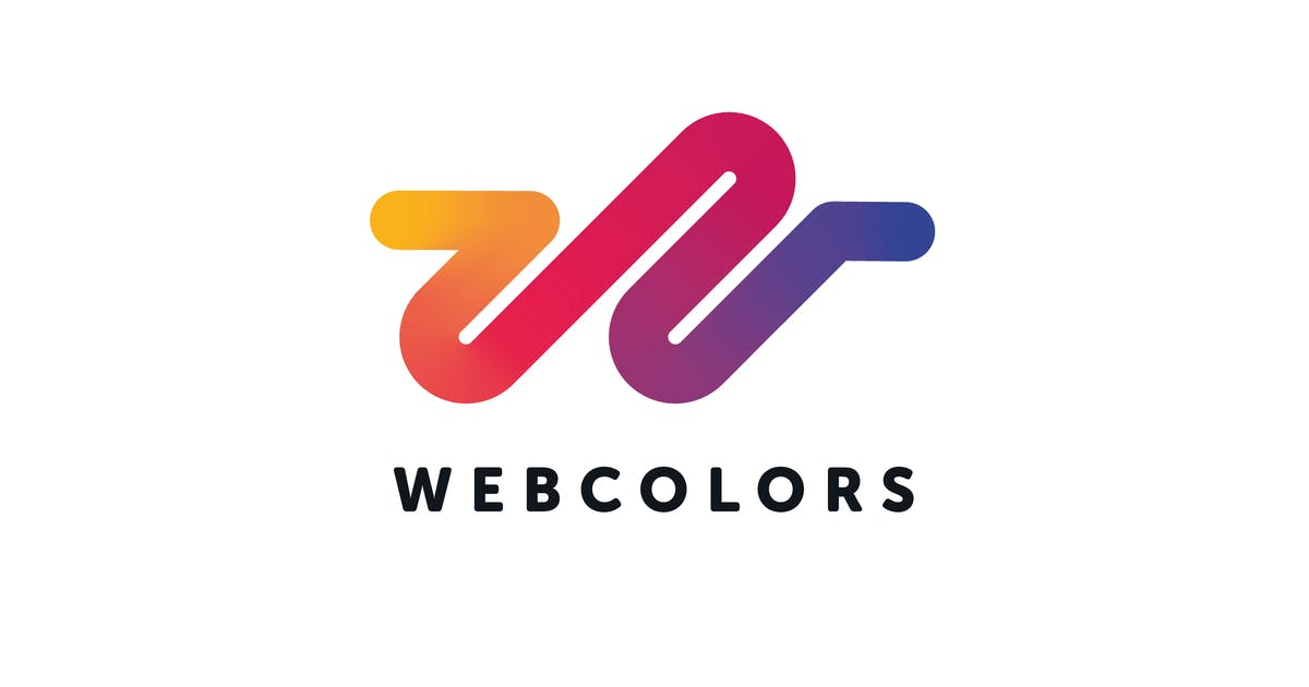 Download Web Colors Logo W Letter Template by Unknow