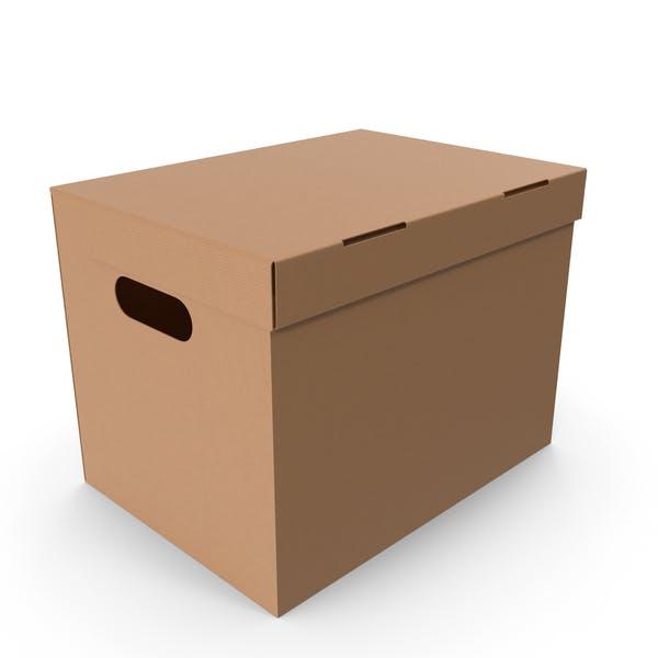 Картонная коробка большой