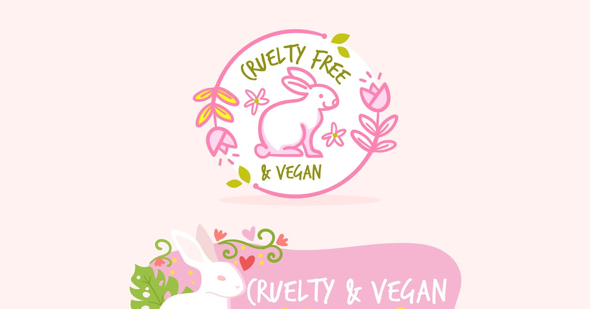 Download Hand Drawn Cruelty Vegan Free Badges by MissChatZ