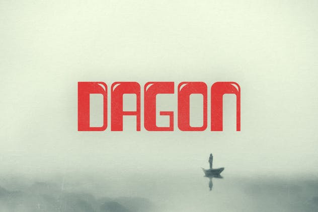 Dagon Typeface - product preview 0