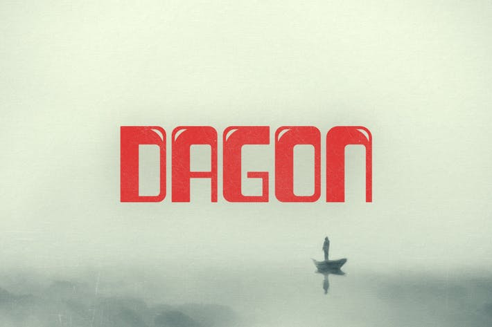 Cover Image For Dagon Typeface