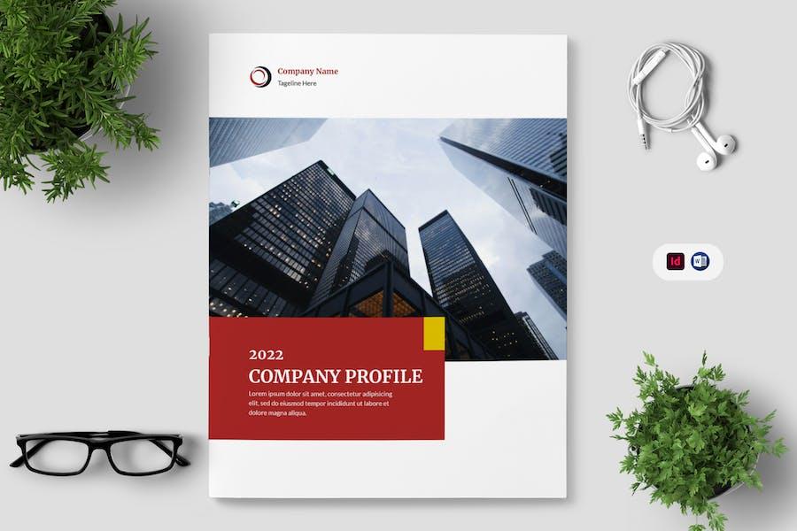 Clean Company Profile Template