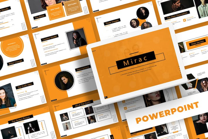 Thumbnail for Mirac - Powerpoint Template
