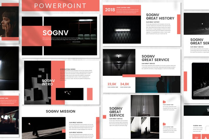 Thumbnail for Sognv - Business Powerpoint Template