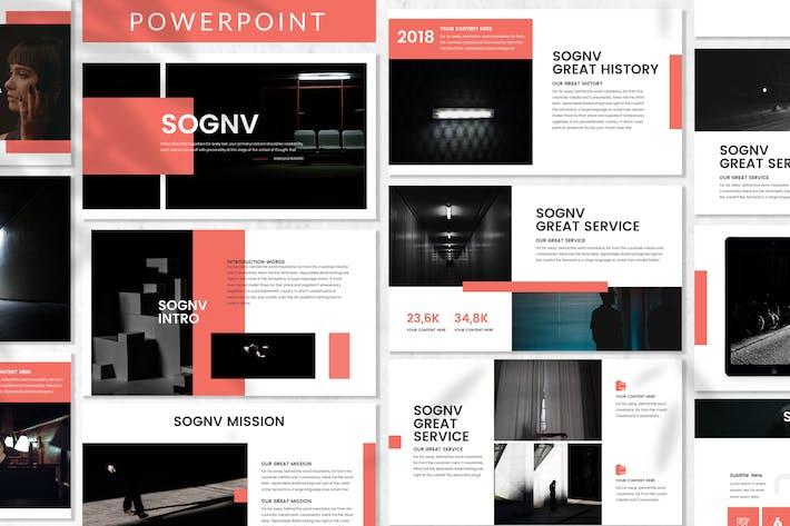Thumbnail for Sognv - Plantilla de PowerPoint de negocios