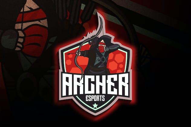 Archer Esports - Mascot & Esport Logo