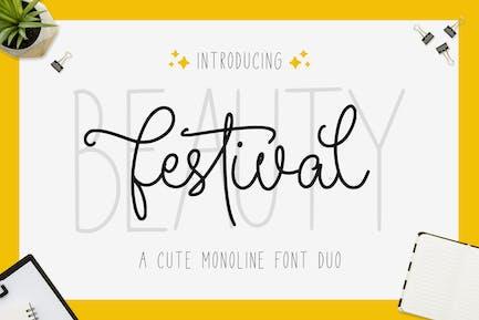 Beauty Festival - Font Duo