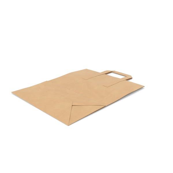 Grocery Bag Mockup Paper Handle