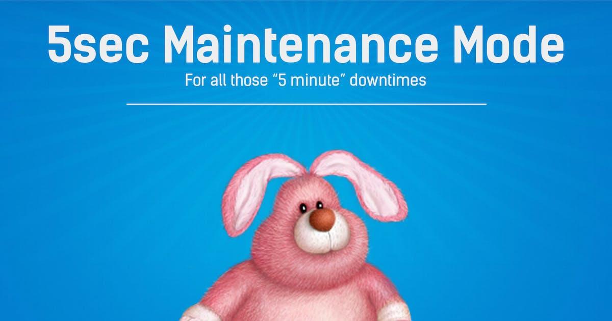 Download 5sec Maintenance Mode by WebFactory